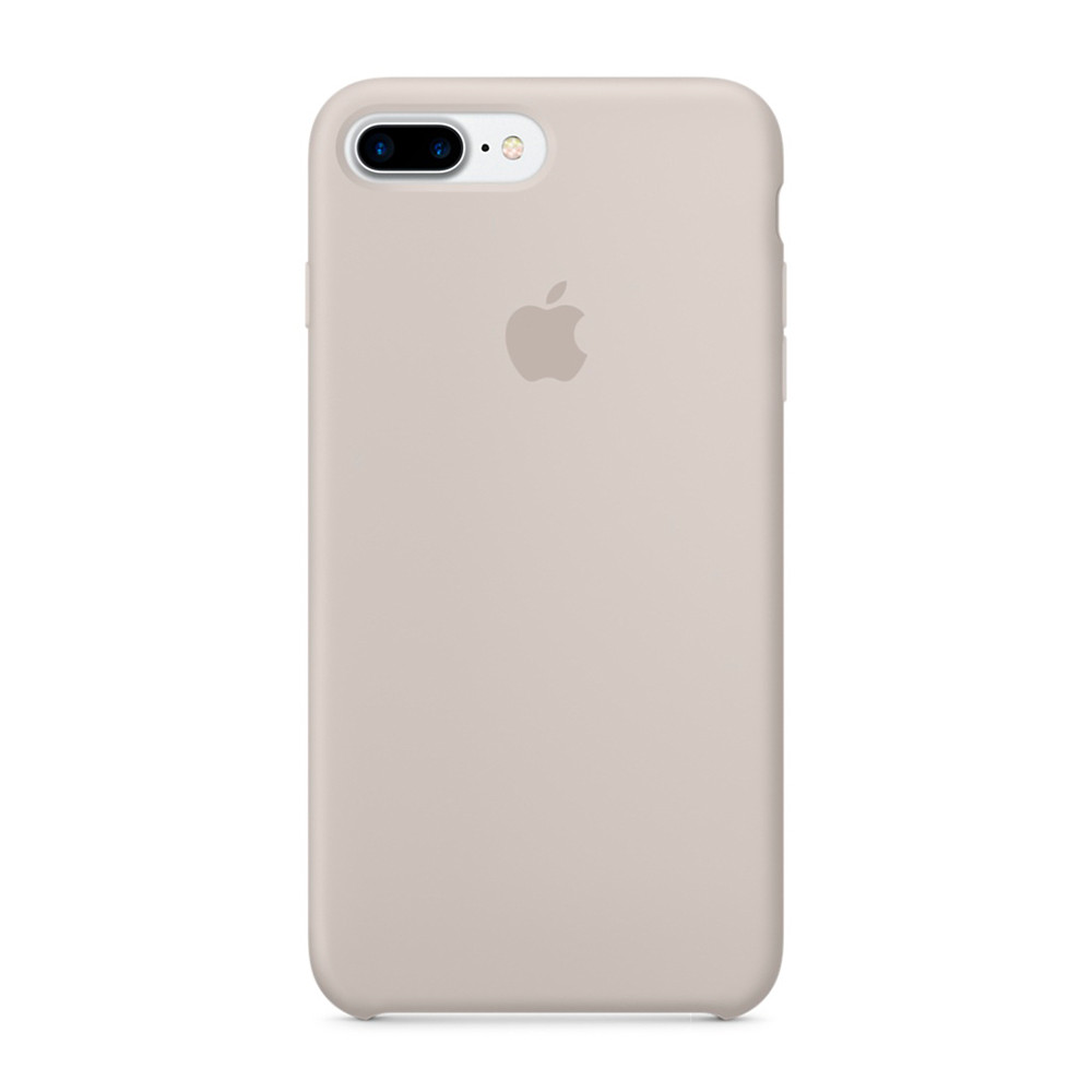 Чехол-накладка Silicone Case для iPhone 7 Plus/8 Plus Gray/Серый