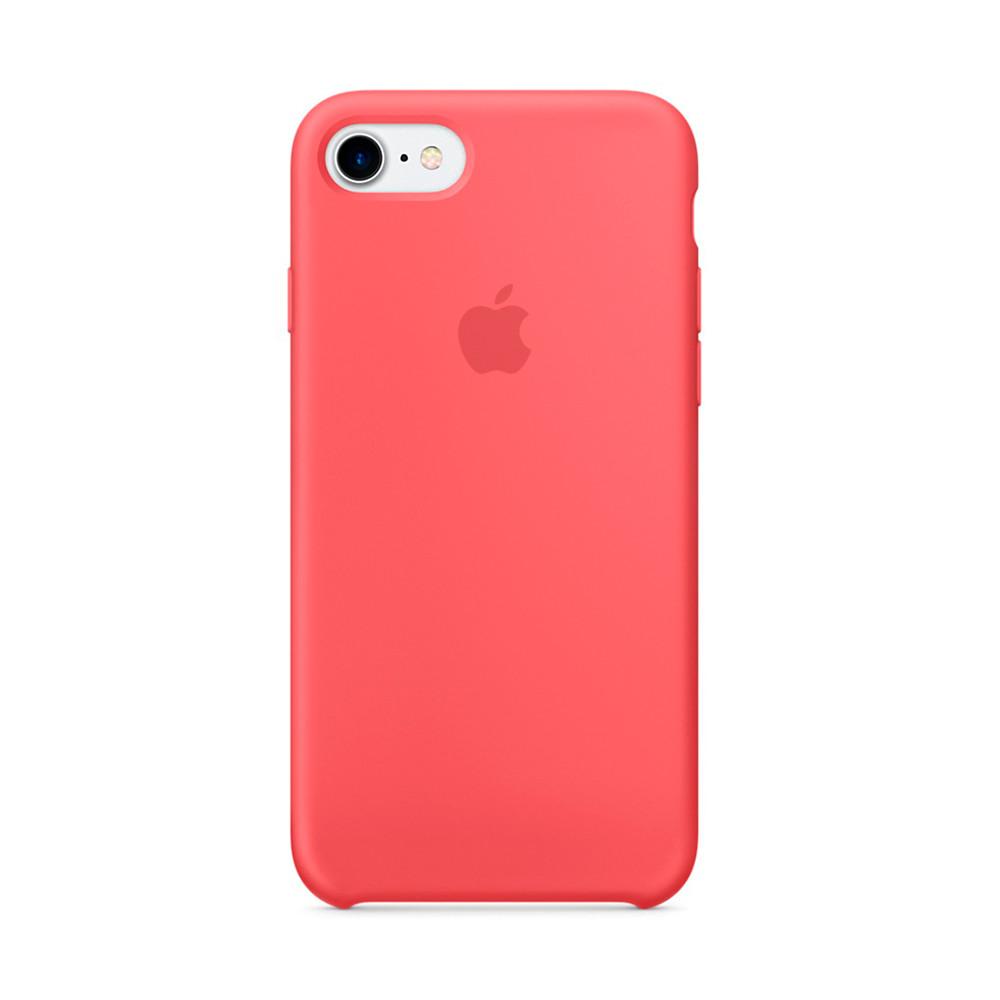 Чехол-накладка Silicone Case для iPhone 7/8 Ярко розовый (13510)