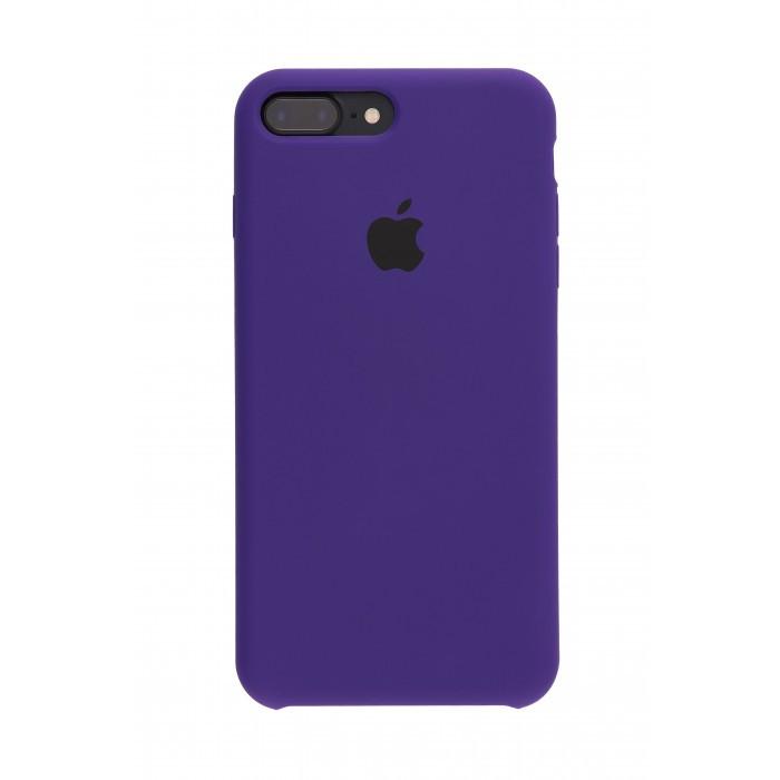 Панель Silicone Case для iPhone 7 Plus/8 Plus Фиолетовый (13393)