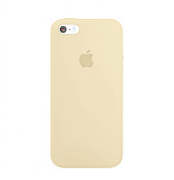 Чехол-накладка Silicone Case для iPhone 5/5s/5se Beige/Бежевый
