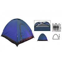 Туристическая палатка универсальная 3-х местная Zelart SY-A-35-BL