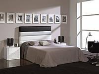 """Двоспальне ліжко """"Орео"""" з оббивкою від виробника, фото 1"""
