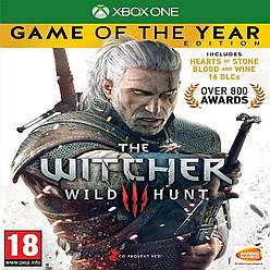 The Witcher 3: Wild Hunt game of the year edition SUB XBOX ONE