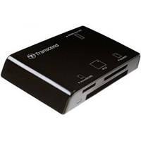 Кардридер TRANSCEND CardreaderTS-RDP8K All-in-1Black Black