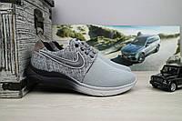 Кроссовки CrosSAV 41 (Nike Roshe Run) (лето, мужские, текстиль, серый)