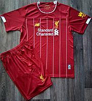 Футбольная форма Ливерпуль основная сезон 2019-2020 (красная)