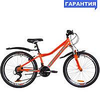 """Велосипед 24"""" Formula FOREST AM 2019 (оранжево-бирюзовый)"""