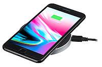 Беспроводное зарядное устройство 2E Wireless Charging Pad, black, фото 1