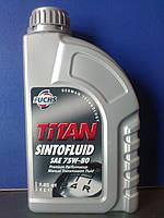 Трансмиссионное масло FUCHS TITAN SINTOFLUID SAE 75W-80 (1л.)