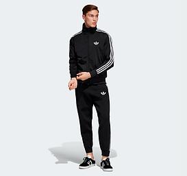 Зимний черный спортивный костюм Adidas (Адидас)