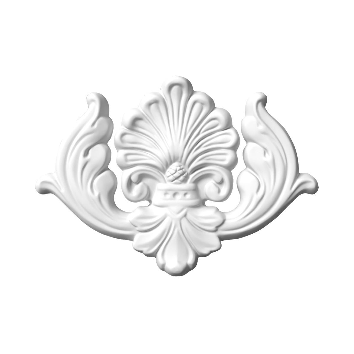 Гіпсова ліпнина декоративне кут в-6 L-230мм