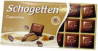 Шоколад черный Schogеtten Cappuccino ( со вкусом Каппучино) 100г.