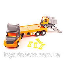 Машина Super Tech Truck с грузовиком