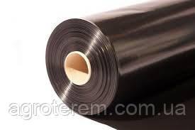 Пленка черная полотно, ширина - 1,20м, 100ст, длина - 500м (мульчирующая). Стабилизированная.