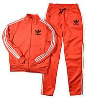Теплый спортивный костюм Adidas (Адидас) с лампасами