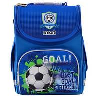 Рюкзак школьный 555993 smart каркасный для мальчика