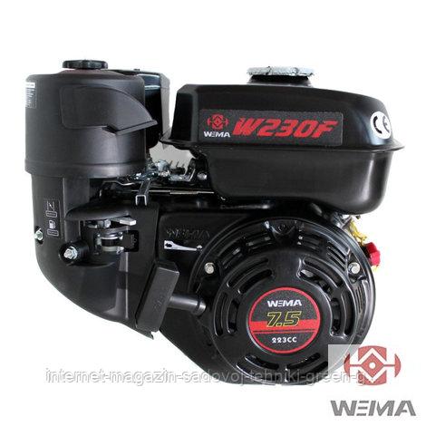 Двигатель бензиновый WEIMA W230F-S New Евро 5 (7,5 л. с., вал под шпонку, 20 мм)