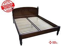 Кровать из массива   Венеция-1 (2,0Х1,6м), фото 1