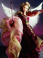 Коллекционная кукла барби Ангел Mattel Barbie Angels Of Music Collection Heartstring Angel Doll, фото 1