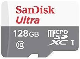 Карта памяти microSD 128Gb /SanDisk/ Ultra UHS-1 80MB/s (SDSQUNS-128G-GN6MN) EAN/UPC: 619659169893