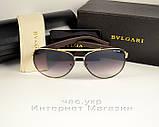Женские солнцезащитные очки BvLgari Aviator Авиатор мужские унисекс модель 2020 года реплика, фото 4