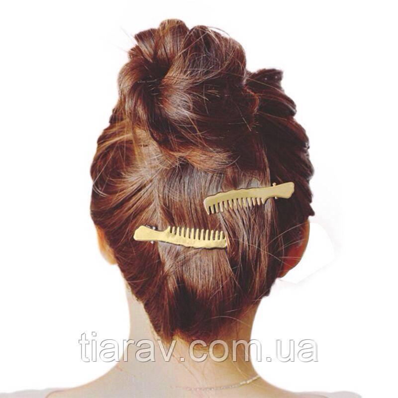 Шпилька ГРЕБІНЕЦЬ зажим для волосся гребінець невидимка Аксесуари для волосся