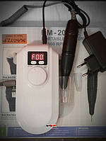 Фрезер для маникюра и педикюра Simei DM 208-2 портативный переносной с аккумулятором 30 ватт 30000 об.