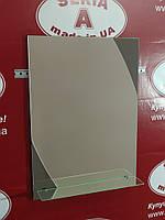 Зеркало в ванную прямоугольное с декором №79 /Дюбель 6х40 в Подарок