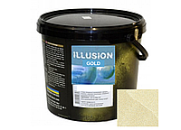 Декоративная штукатурка Эльф-Декор Illusion White Gold 5кг