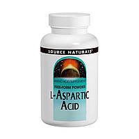L-аспарагиновая кислота (L-Aspartic acid) порошок Source Naturals 100 гр