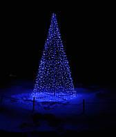 Светодиодная ёлка конусная новогодняя