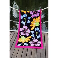 Полотенце Lotus пляжное - Grace 75*150 велюр, фото 1