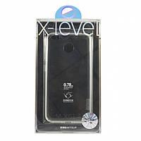Чехол-накладка для Xiaomi REDMI 4X X-Level TPU ANTI-SLIP Прозрачная (PC-000732)