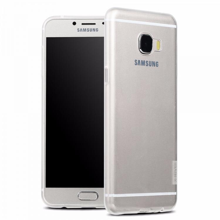 Чехол-накладка для Samsung A720 (2017) X-Level TPU ANTI-SLIP Прозрачная (PC-000737)
