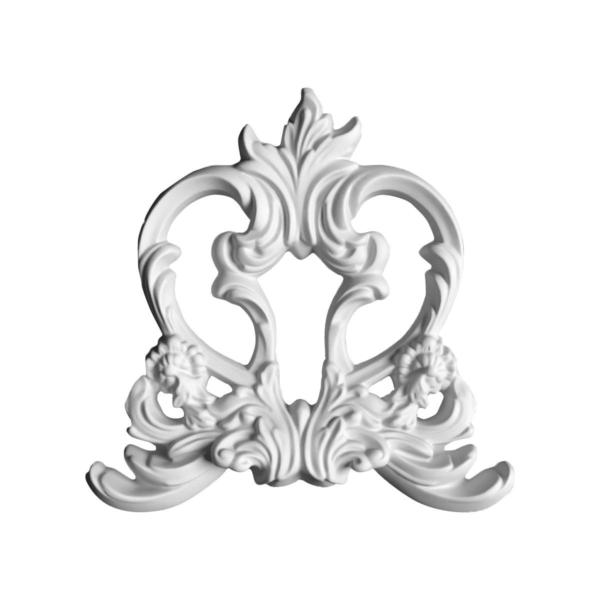 Гіпсова ліпнина декоративне кут у-33 һ235х235мм