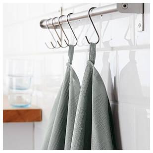 IKEA IRIS Кухонное полотенце, серый  (202.100.21)