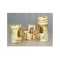 Керамика для аквариума Замок малый 15х5х10 см