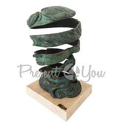 Скульптура из бронзы «Воображение» Anglada, h-23х23х35см (322a)
