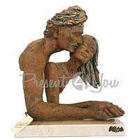 Скульптура из керамики «Захват» Anglada , h-29х22х38 см