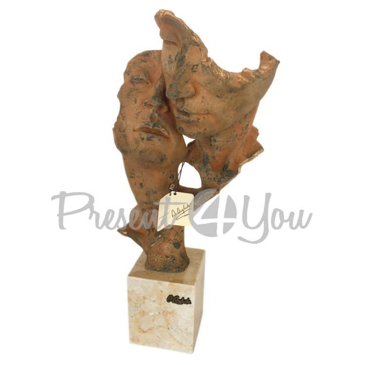 Скульптура из керамики «Эхо» Anglada, 21х18х46 см (388a)