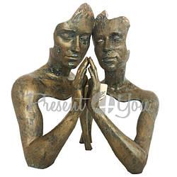 Скульптура из керамики «Клубок» Anglada , h-28х39х17 см (536a)