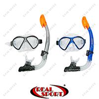 Набор для плавания маска с трубкой M208-SN120-SIL