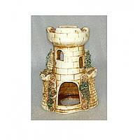 Керамика для аквариума Башня малая 10х7х14 см