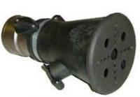 Насадка на выхлопную трубу из нержавеющей стали для отвода СО под шланг диаметром  100 ВGT 100/140 Filcar Итал