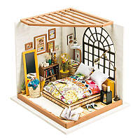 3D конструктор Robotime DIY HOUSE Спальня Алисы (DG107), фото 1