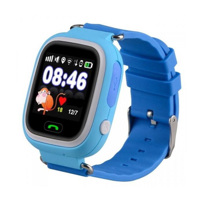 Умные детские часы SBW Q100 Сине-голубые (wfb100bu)