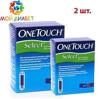 Тест- полоски One Touch Select №50 2 упаковки