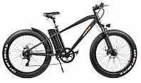 """Электрический велосипед ALLROAD MAX 26"""" Чёрный / Оранжевый"""