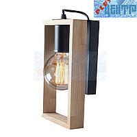 Бра светильник Vesta Light Wooden Frame 64231 Натуральный