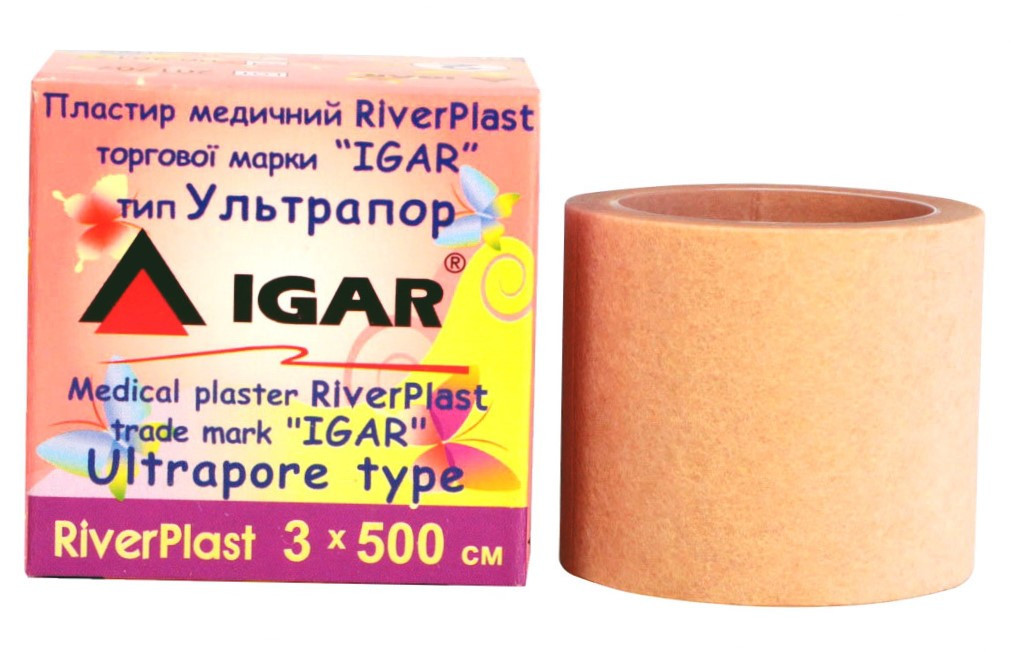 Пластырь ультрапор RiverPlast 3х500см